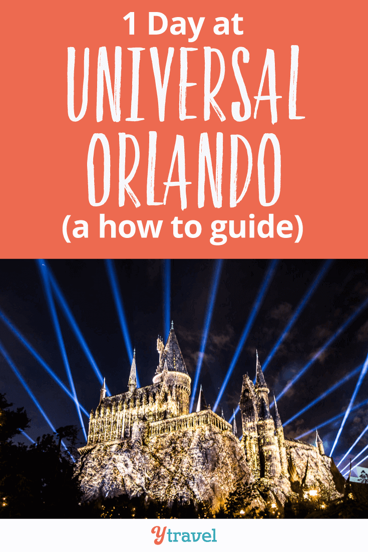 Tips for 1 day at Universal Studios Orlando. How to park hop, what tickets to buy, what are the best rides, how to save time and money - a how to guide. Click through for all the details.