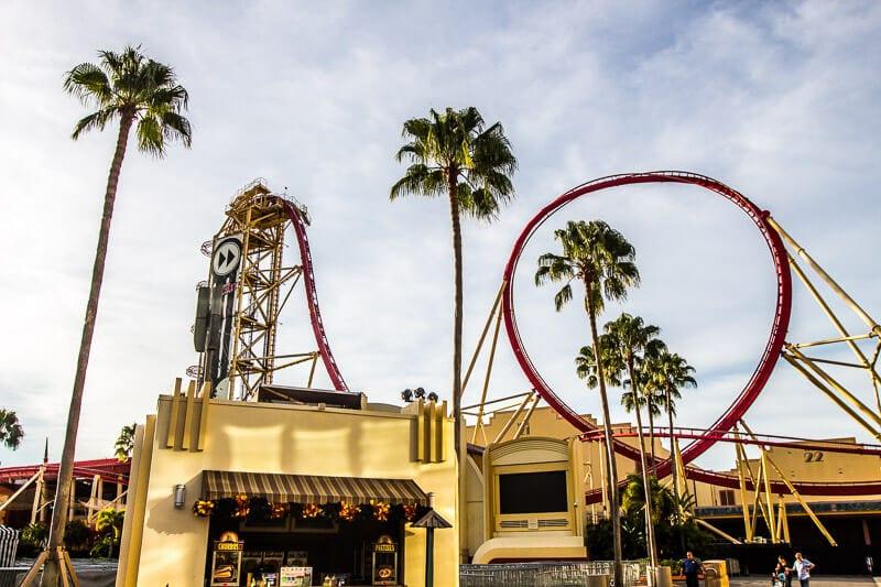 Rip Ride Rockit roller coaster Universal Studios Orlando Resort