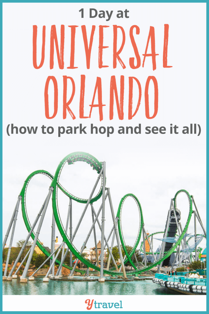 How to do 1 day at Universal Orlando Resort. Tips on how to park hop, which Universal tickets to buy, what are the best Universal rides, how to save money and time - a how to guide. Click through for all the details.