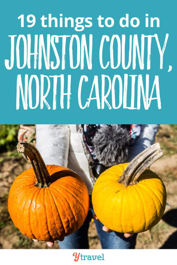 North Carolina is a great road trip destination, and Johnston County in North Carolina is one of the biggest counties in NC, and the next county south of Raleigh. Here are 19 reasons to visit Johnston County when you visit North Carolina on your East Coast Road Trip.