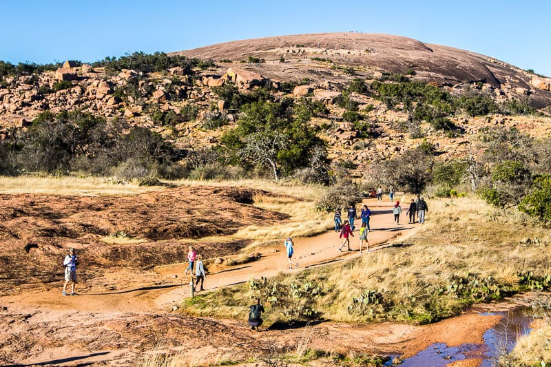 Enchanted Rock Natural Reserve Hill Country Texas