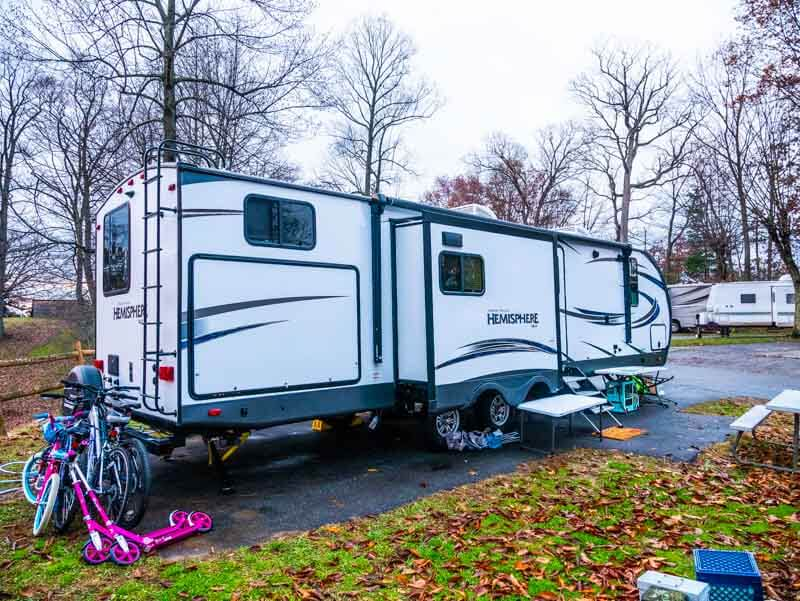 Forest River Hemisphere travel trailer
