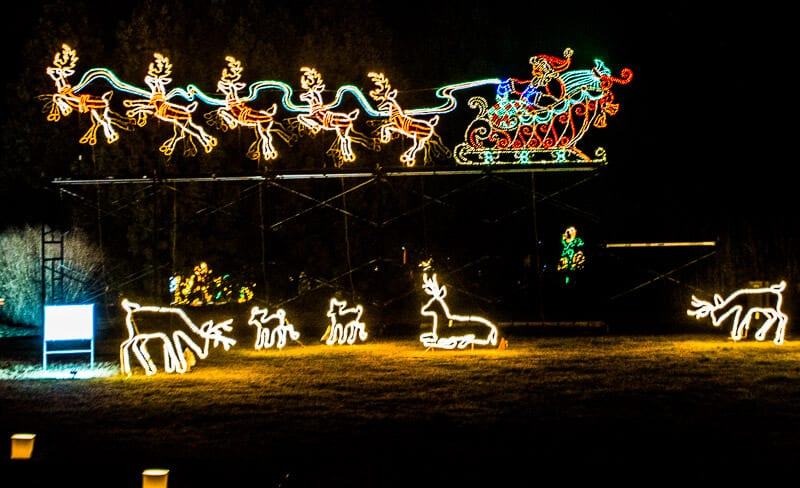 Galaxy of Lights Botanical Garden Huntsville (1)
