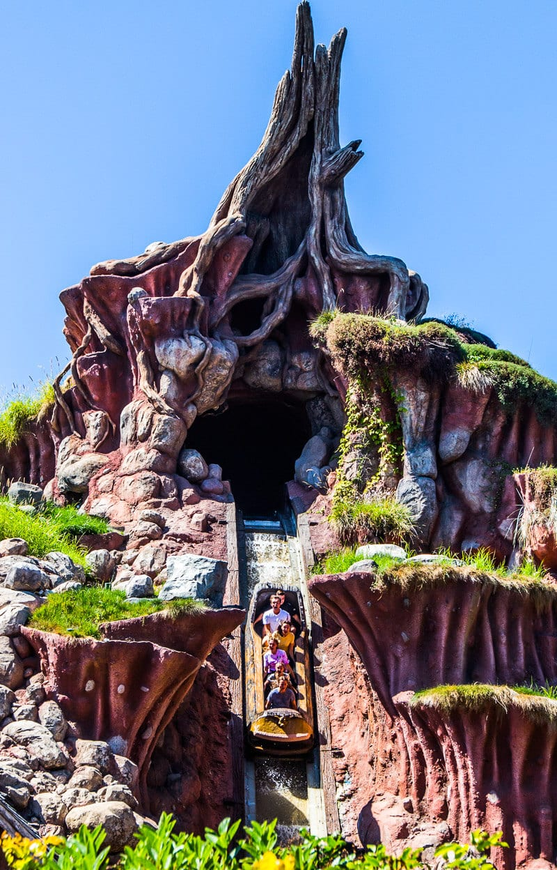 Splash Mountain, Disneyland, California Park