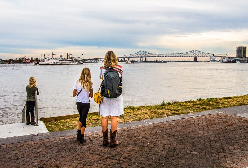Mississippi River in New Orleans
