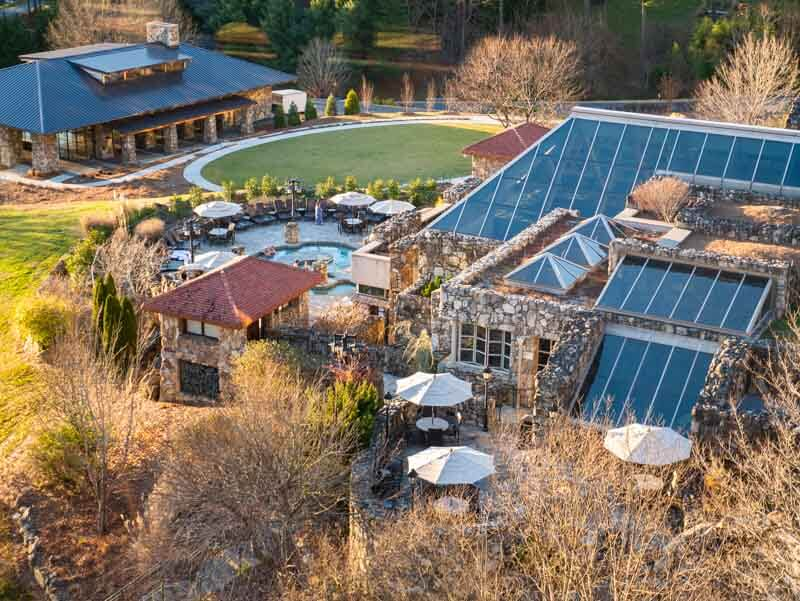 Omni Park Grove Inn asheville spa