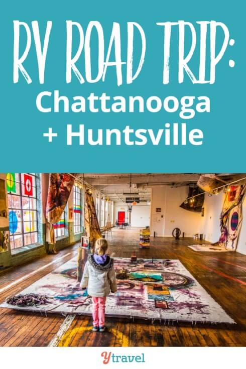 Week 2 of our USA RV road trip. This week the Christmas spirit comes alive for us in Chattanooga TN and Huntsville AL. And we camp in the snow! Click to read more RV lessons and loves and travel costs.