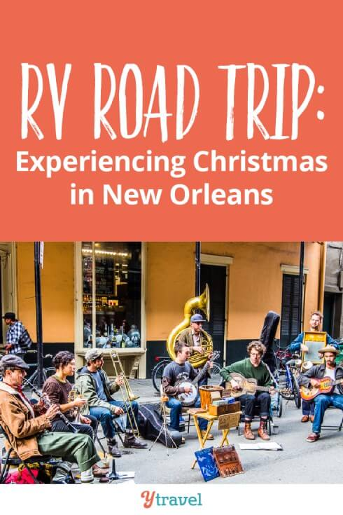 Our RV road trip for week three takes us to experience Christmas in New Orleans Louisiana. See the what we did in NOLA + our RV lessons and travel costs