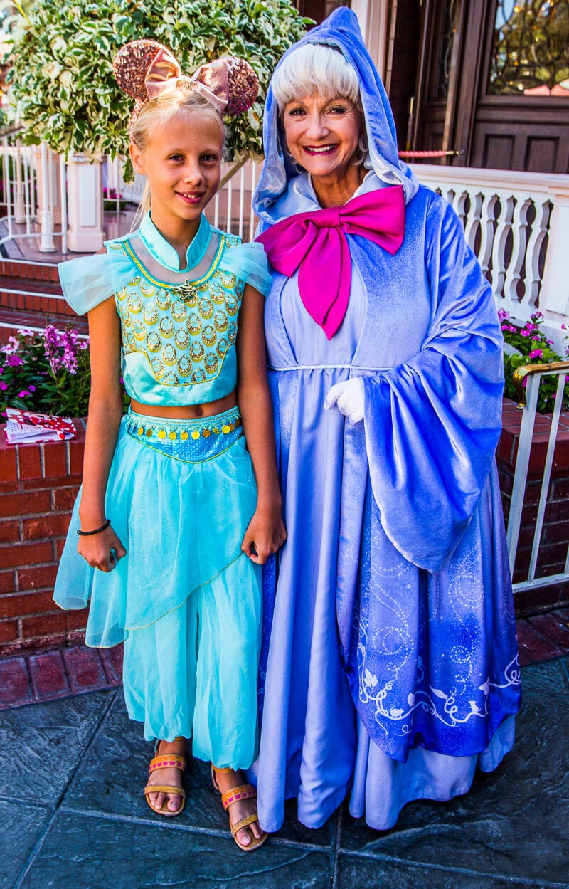 The Fairy Godmother Disneyland Anaheim