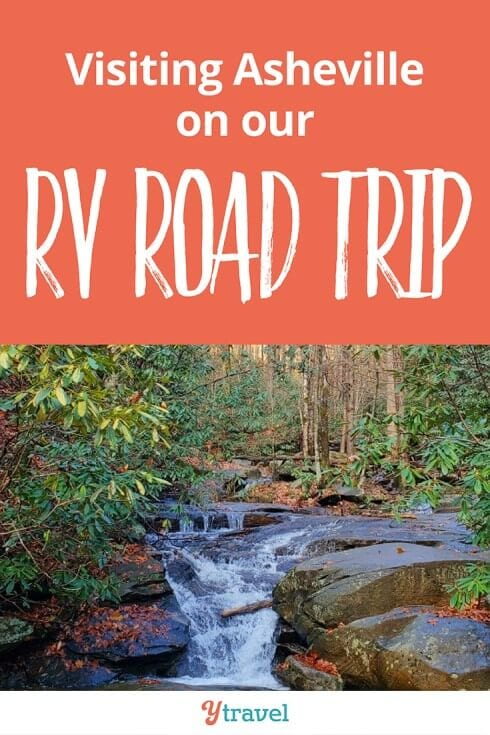 This week on our USA RV road trip, we visit Asheville in North Carolina. We see plenty of breweries and waterfalls. Plus we share our RV lessons and travel costs. Happy pinning