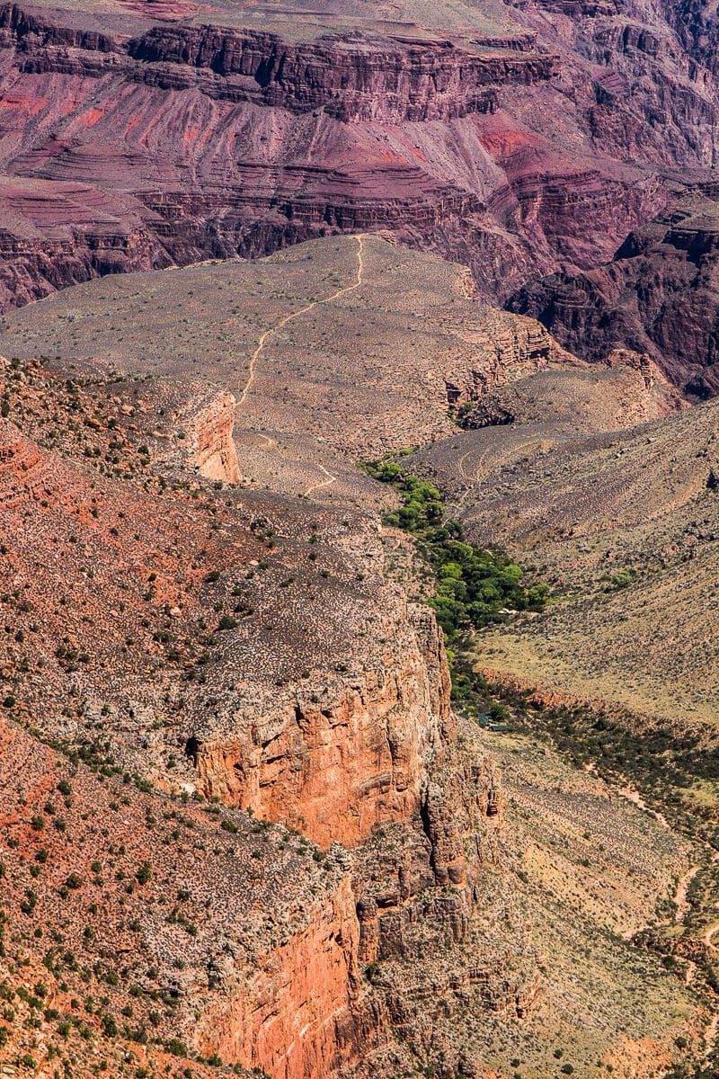 Bright Angel Trail, Parc national du Grand Canyon