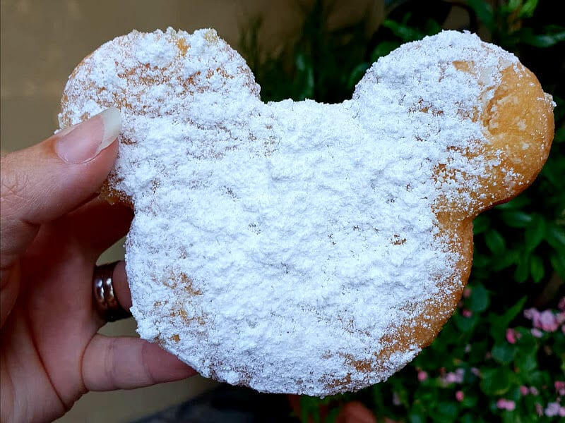 Beignets at Disneyland