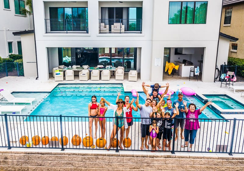 Orlando vacation homes are perfect for large groups of family or friends