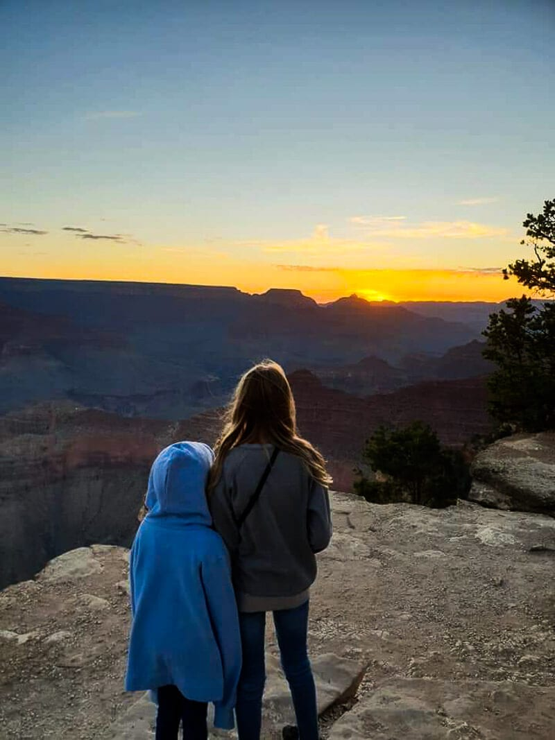 Sunrise at Yavapai Point, Grand Canyon National Park