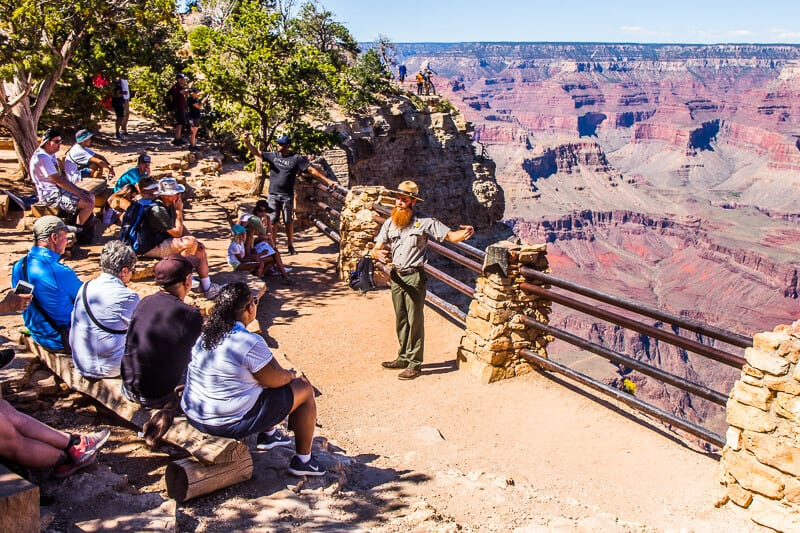 ranger talks grand canyon