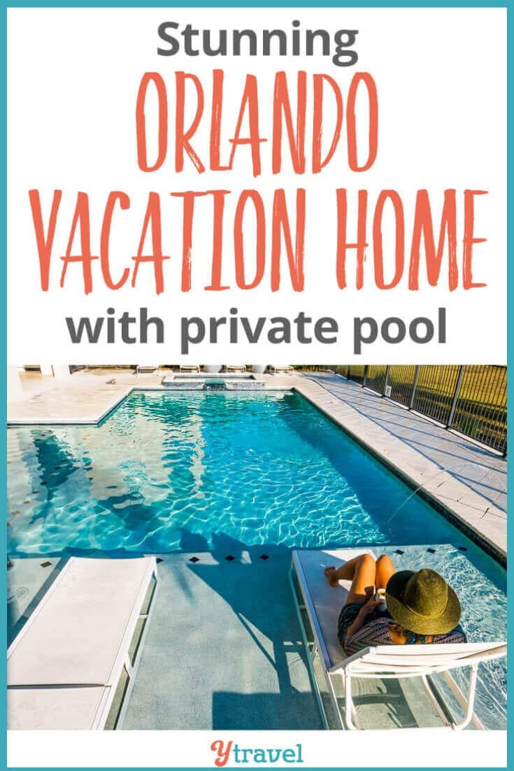 Looking for an Orlando Vacation home near Disney World? This 8,000 sq ft home has a private pool and hot tub, 10 bedrooms (all with ensuites), a games room, cinema room, fully equipped kitchen and much more! This vacation rental in Orlando is perfect for large groups and family reunions! See inside for all the details!