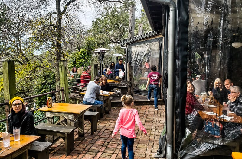 Gristmill River Restaurant & Bar, Gruene