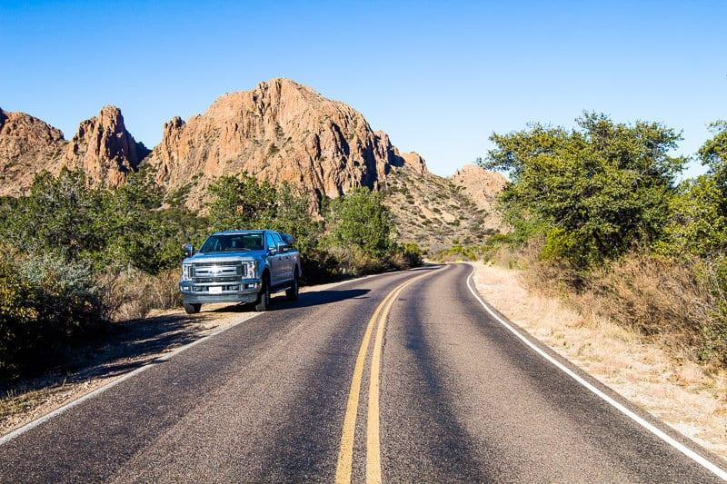 Chisos Basin Drive Big Bend Natinal Park Texas (3)