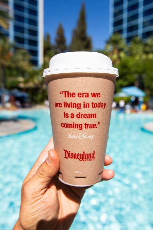 Disneyland Hotel coffee
