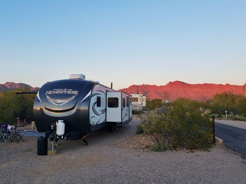 Gilbert Ray Campground Tucson