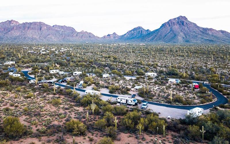 Gilbert Ray Camp Tucson Mountains