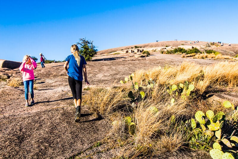 Enchanted Rock State Park Texas