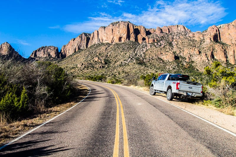 Chisos Basin drive