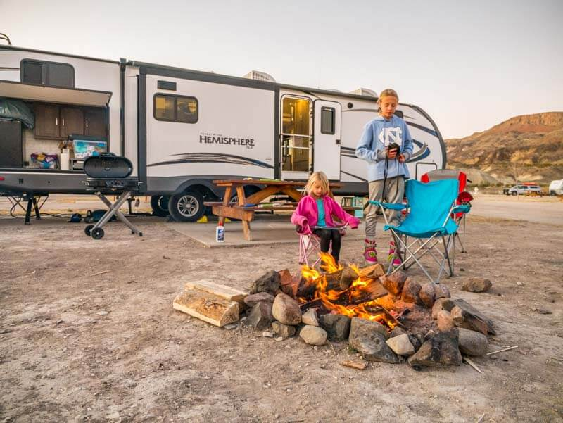 Maverick Ranch RV Park Lajitas Big Bend Texas