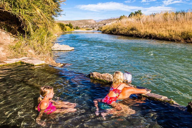 Hot Springs in Big Bend National Park, Texas