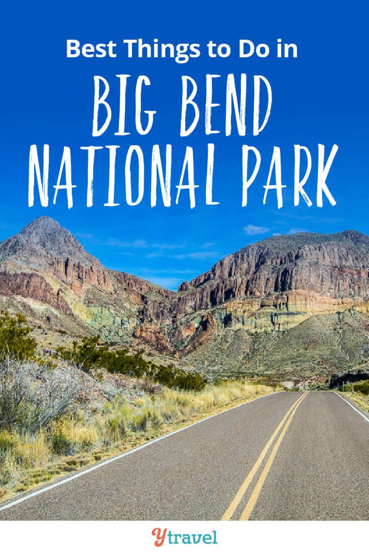 Ultimate guide to Big Bend National Park Texas. Tips on the best hikes, where to stay, how to get there, example itineraries and much more. Click inside now!