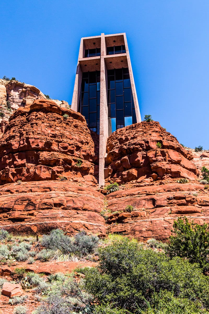One of the best things to do in Sedona - see the Chapel of the Holy Cross