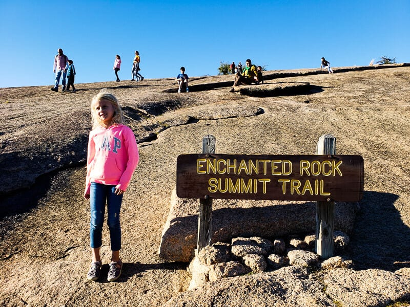 Climbing Enchanted Rock, Texas