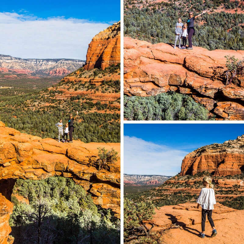 What to do in Sedona- Devil's Bridge Trail SEdona views