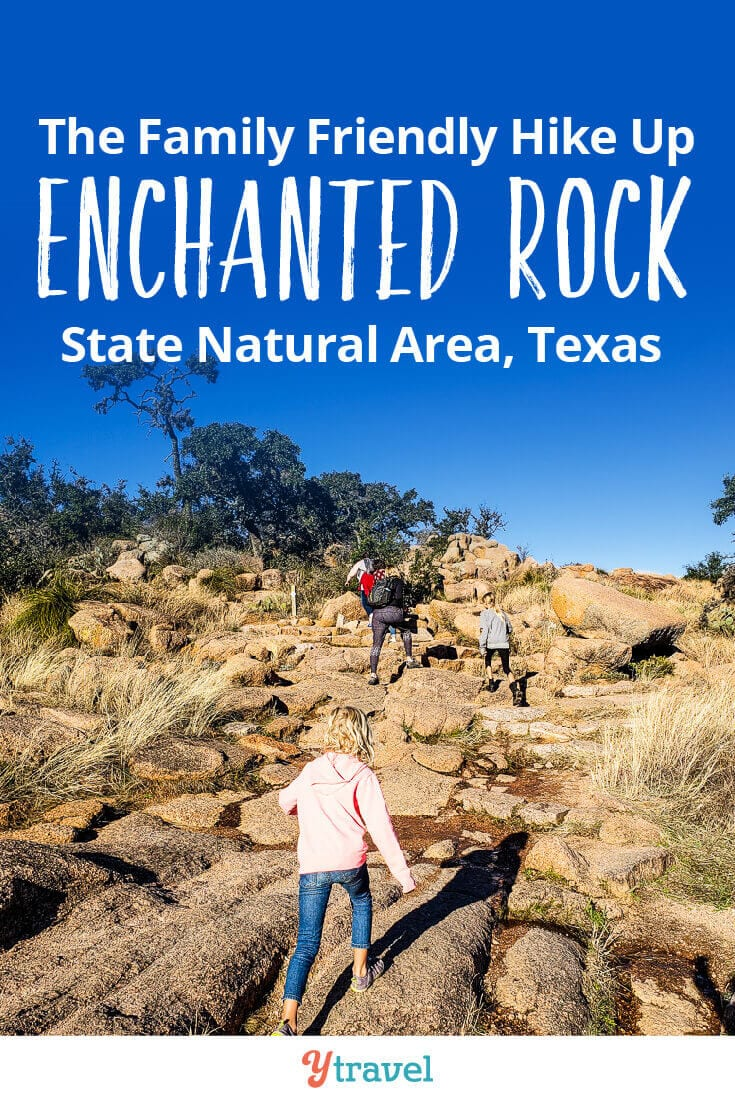 The Enchanted Rock in Texas is one of the most popular things to do in Texas Hill Country. Get tips on climbing the summit trail, plus travel tips on where to stay near Enchanted Rock and visiting nearby Fredericksburg and San Antonia.