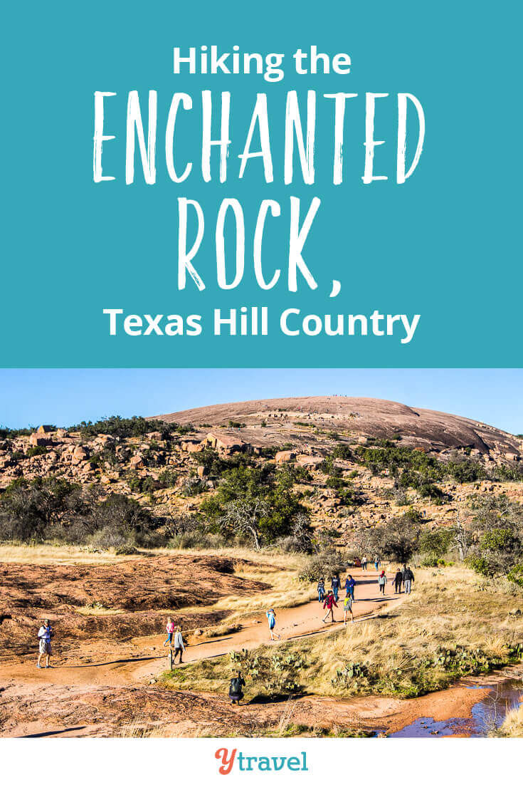Climbing the Enchanted Rock in Texas is one of the most popular things to do in Texas Hill Country. See inside for tips on climbing the summit trail, plus tips on where to stay near Enchanted Rock and visiting nearby Fredericksburg and San Antonia.