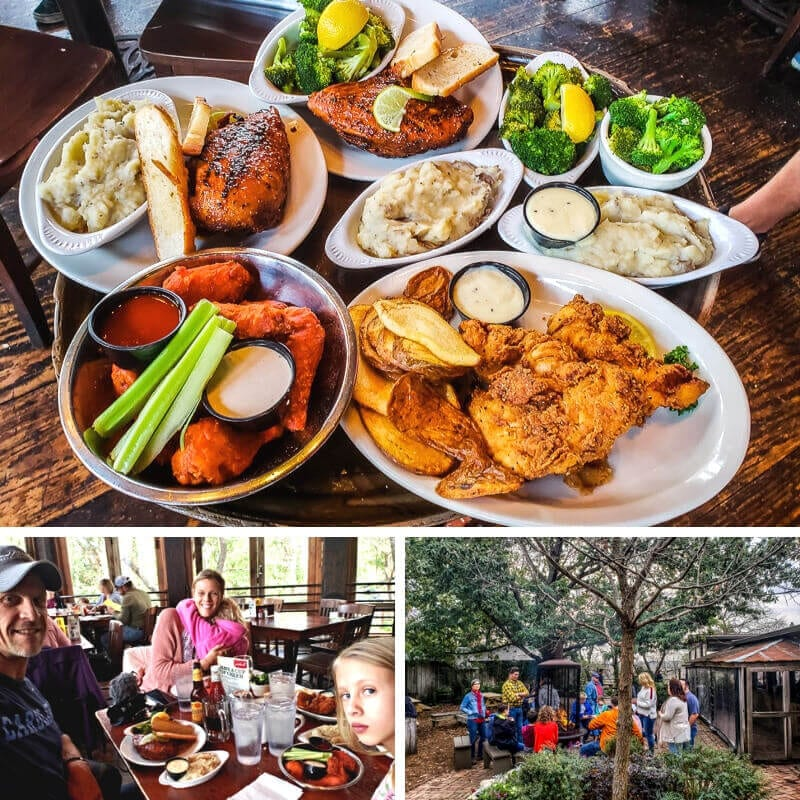 Gristmill River Restaurant & Bar, Gruene, Texas