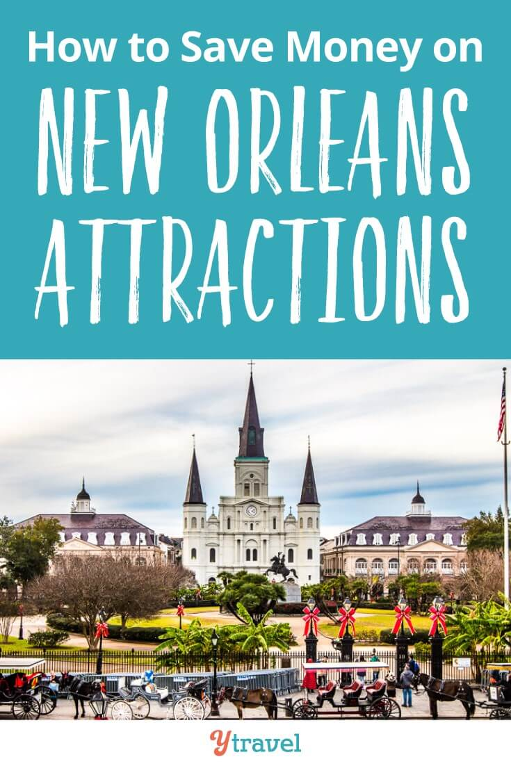 How to save money on New Orleans attractions using the New ORleans Sightseeing PAss. We break down what is included - swamp tour, World War II Museum, Mardi Gras World - as well as how much it costs, the benefits of the pass and how it will save you money.
