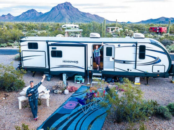 rv road trip and lessons