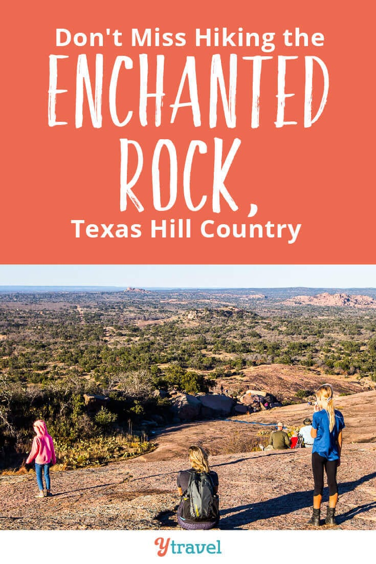 Enchanted Rock State Park in Texas is one of the most popular things to do in Texas Hill Country. See inside for tips on climbing the summit trail, plus tips on where to stay near Enchanted Rock and visiting nearby Fredericksburg and San Antonia.