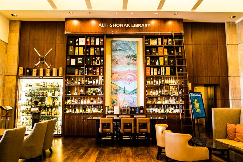 Scotch library at Westin Kierland Resort & Spa in Scottsdale, Arizona