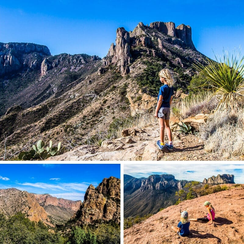 Hiking the Lost Mine Trail in Big Bend National Park in Texas