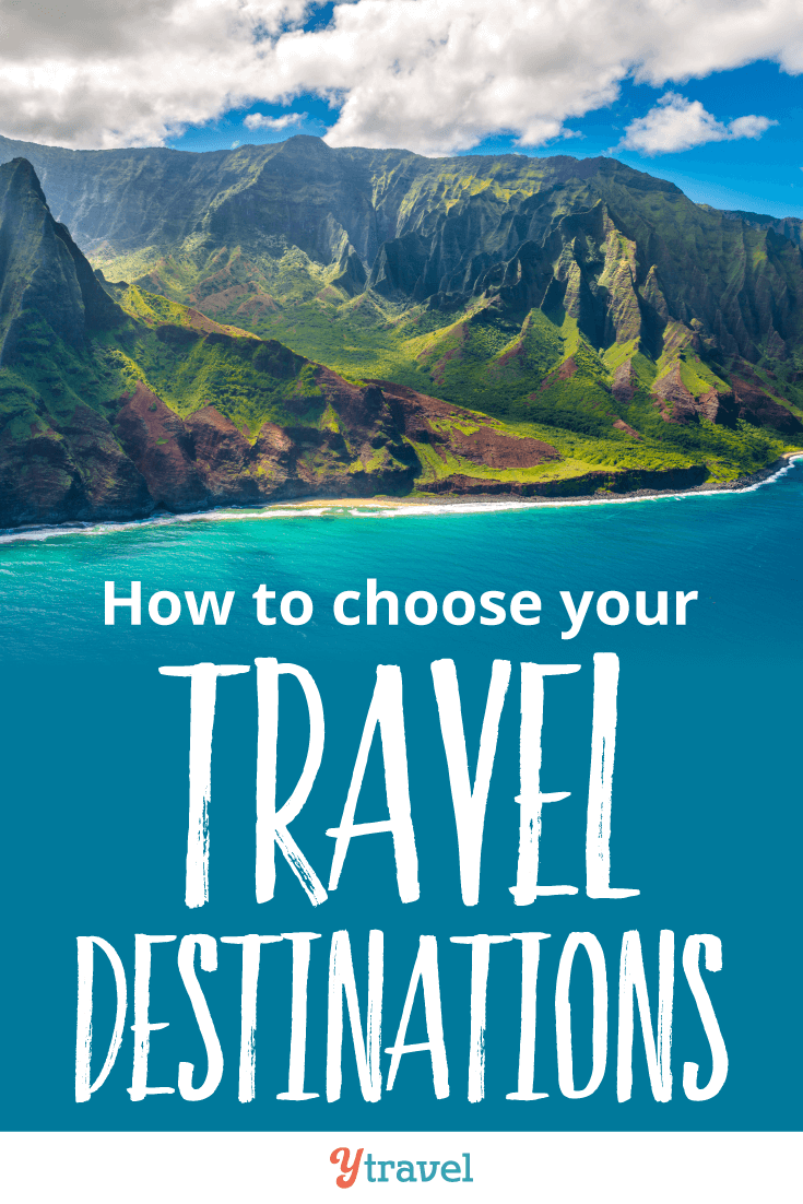 How to choose your travel destinations. Tips on flights, accommodation, rental cars, length of stay, seasons, and much more.