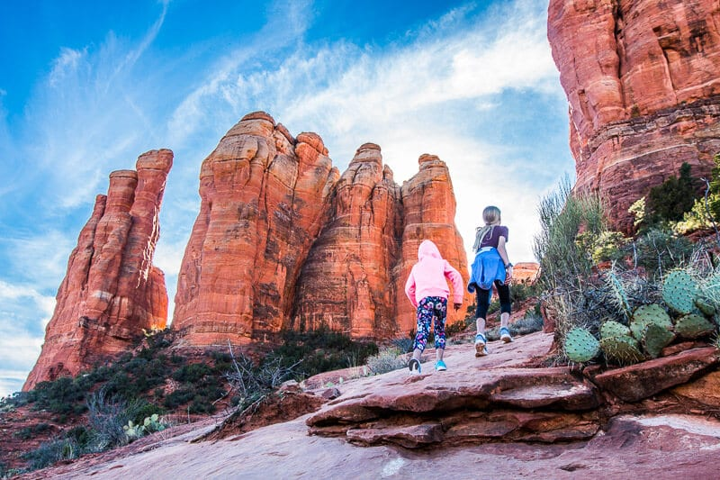 Sedona Cathedral Rock Hike with kids top things to do in arizona