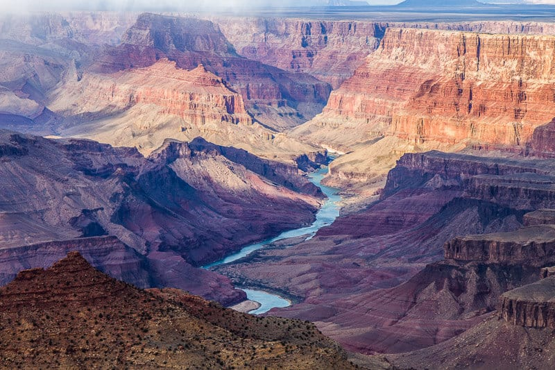 Southwest USA itinerary Grand Canyon