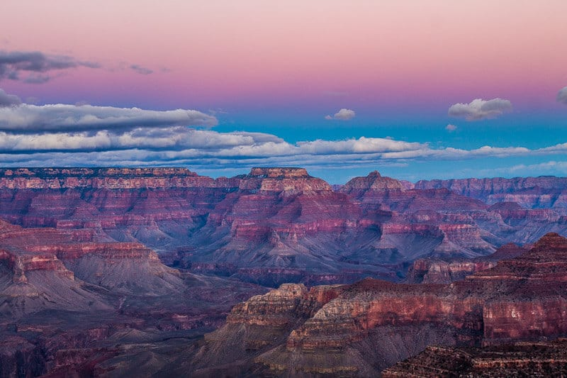 Hopi Point sunset Grand Canyon