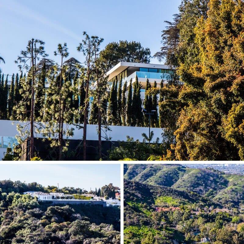 popular tour of LA - celebrity homes