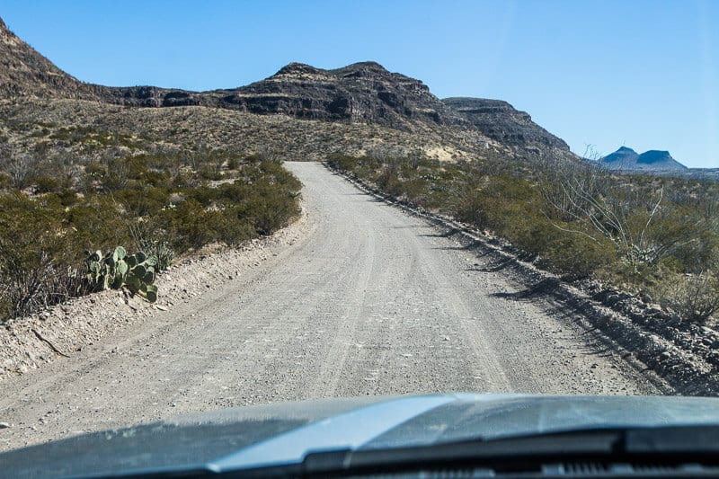 The Main Road, Big Bend State Park, Texas
