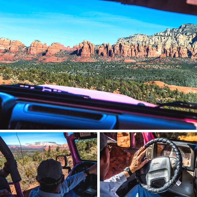 Broken Arrow Pink Jeep Tour, Sedona AZ