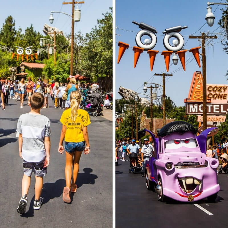 Cars Land, Disney California Adventure Park