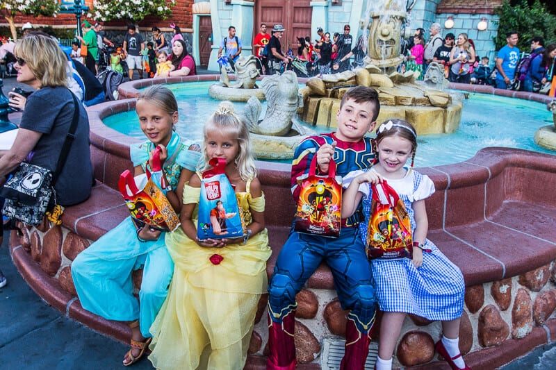Disneyland Trick or Treat